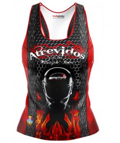 toplevel sportswear dye-sublimated racerback tank-tops