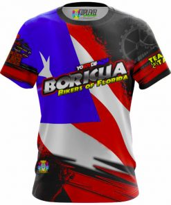 Boricua Bikers of Florida Tees