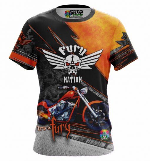 Honda Fury Motorcycle Shirt