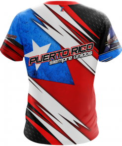 Puerto Rico Shirt Full Print Back
