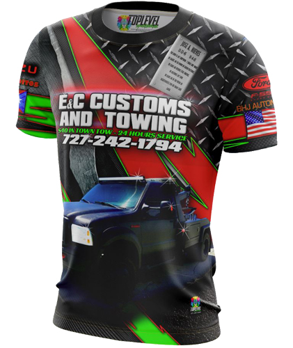 E&C Custom & Towing by Toplevel Sportswear