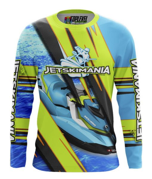 Dye-Sublimated Long Sleeve Shirts Toplevel Sportswear