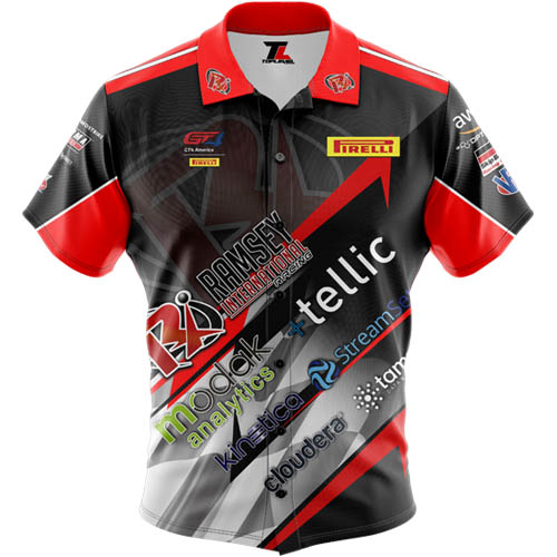 Dye-Sublimated Custom Racing Jerseys