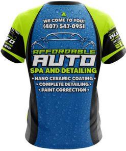 Dye-Sublimated Custom T-Shirts