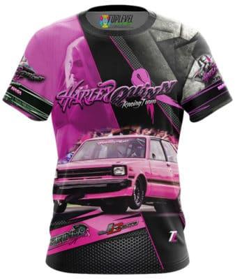 Harley Quinn Racing Team Shirt by Toplevel Sportswear