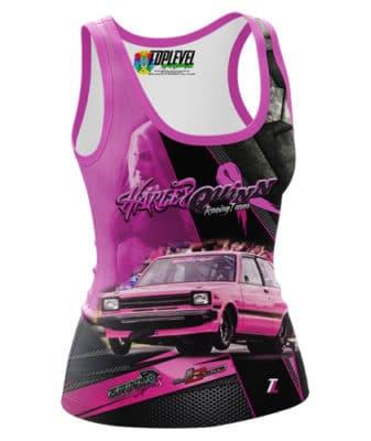 Harley Quinn Racing Team Tank-Top by Toplevel Sportswear