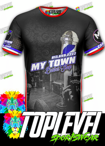 My Town Barbershop T-shirts by Toplevel Sportswear