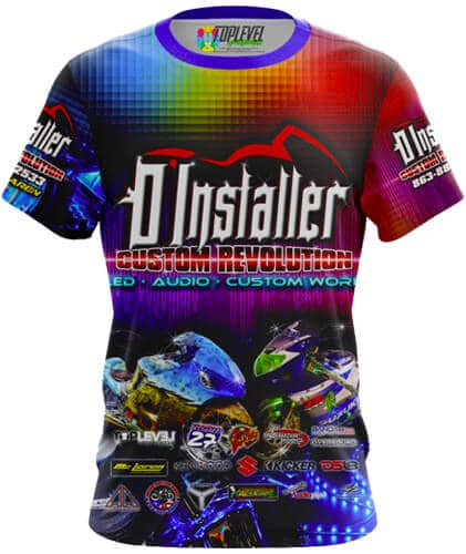 D'Installer T-Shirts by Toplevel Sportswear