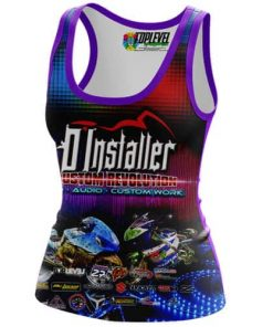 D'Installer Racerback Tank-tops by Toplevel Sportswear