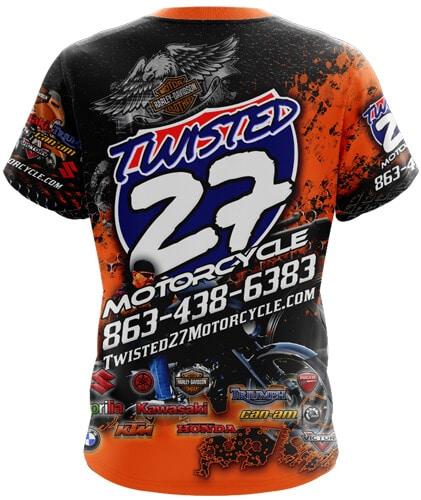 t 27 orange back Toplevel Sportswear | (321) 200-0305