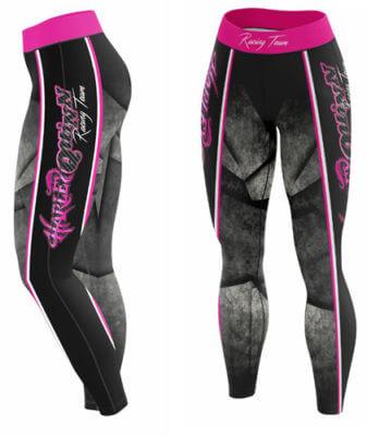 Harley Quinn Leggings by Toplevel Sportswear