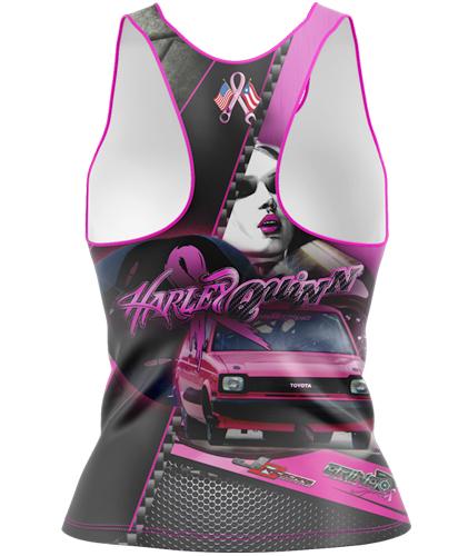 Harley Quinn Custom Tank Top