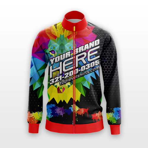 dye sublimation full color jacket