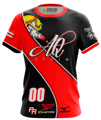 AQ Style Softball Shirt by Toplevel Sportswear.