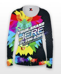 dye sublimation ladies long sleeve shirts toplevel sportswear Toplevel Sportswear | (321) 200-0305