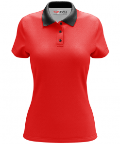 Dye-Sublimated Custom Ladies Polo Shirts