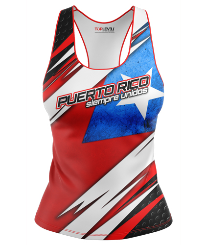 Puerto Rico Flag Tanks