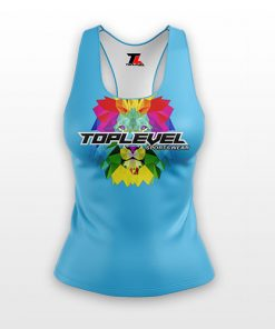 dye sublimation solid ladies racerback tanks toplevel sportswear Toplevel Sportswear | (321) 200-0305