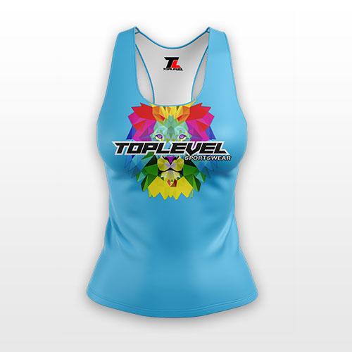 dye sublimation solid ladies racerback tanks toplevel sportswear Toplevel Sportswear | (321) 200-0305