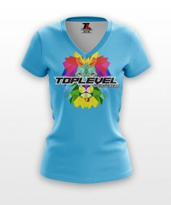dye sublimation solid ladies vneck shirts toplevel sportswear Toplevel Sportswear | (321) 200-0305
