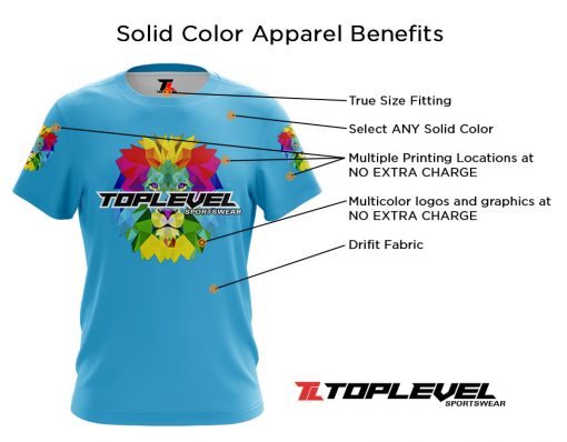 tls solid apparel map Toplevel Sportswear | (321) 200-0305