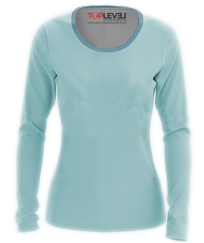 Drifit Performance Long Sleeve Fitted Crew Neck