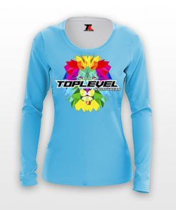 dye sublimation solid ladies long sleeves shirts toplevel sportswear Toplevel Sportswear | (321) 200-0305
