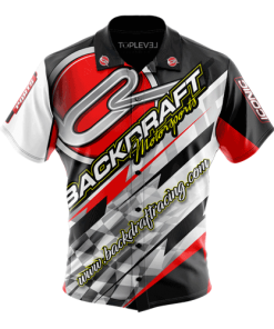 Backdraft Motorsports Racing Shirt by Toplevel Sportswear