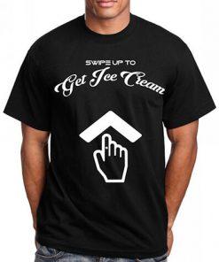Swipe Up to Get Ice Cream