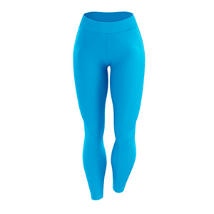 Toplevel Sportswear Dye-Sublimation Solid Color Leggings