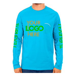 Toplevel Sportswear Dye-Sublimation Solid Color Long Sleeve Shirt