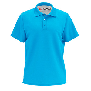 Toplevel Sportswear Dye-Sublimation Solid Color Polo Shirt