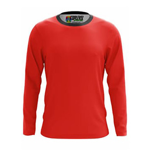 Toplevel Sportwear Custom All-Over Print Long Sleeve T-Shirt