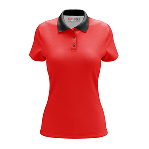 Toplevel Sportwear Custom All-Over Print Fitted Polo Shirt