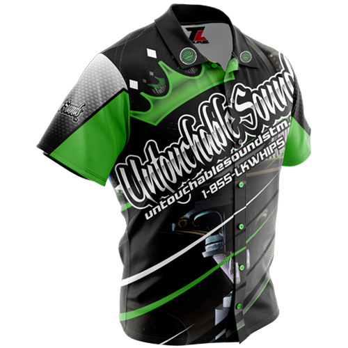 Untouchable Sounds Racing Shirt