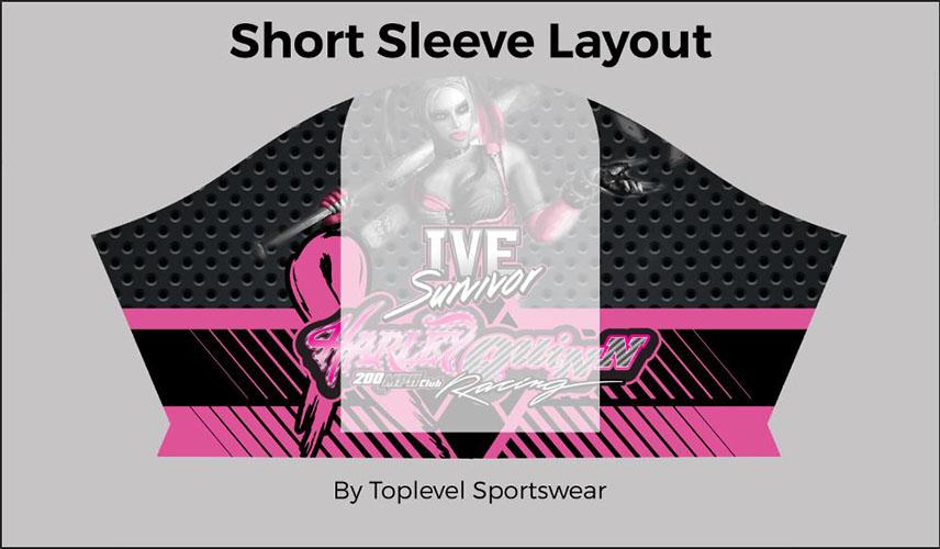 sample sleeve outline Toplevel Sportswear | (321) 200-0305