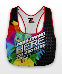 dye sublimation sports bra toplevel sportswear Toplevel Sportswear | (321) 200-0305
