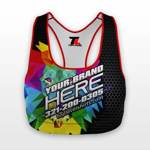 dye sublimation sports bra toplevel sportswear Toplevel Sportswear | (321) 200-0305