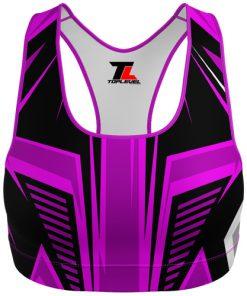 Dye-Sublimated Custom Sports Bra