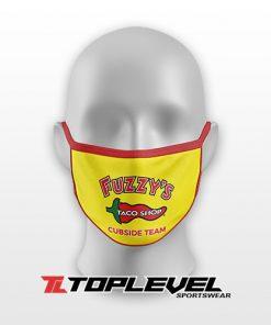 Fuzzys Tacos Facemask
