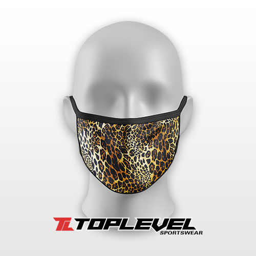 Leopard Print Protective Facemask