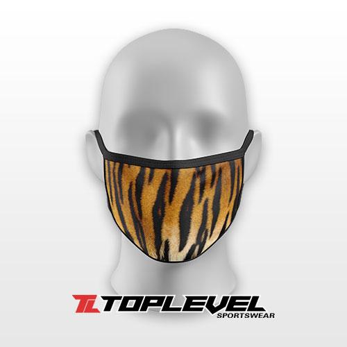 Tiger Print Protective Facemask